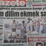 Dilim dilim ekmek sattık – Gazete Gazetesi – Orhan Can – 1