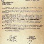 Harun Karadeniz – Cevdet Sunay mektup
