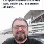 Atatürk Olimpiyat Stadı kısa kollu