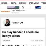 Hürriyet – Orhan Can – Yazı
